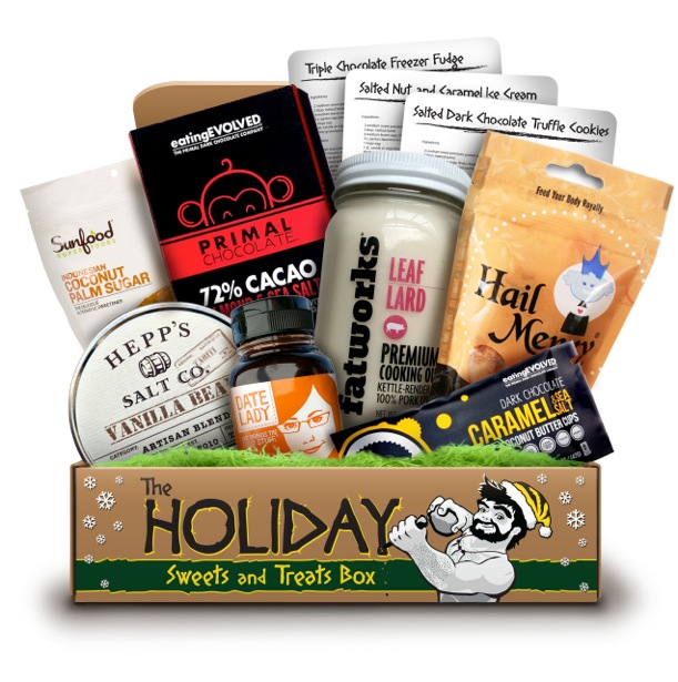 OSPS The Holiday Sweets and Treats Box, Paleo Parents Healthy Cold Weather Comfort Foods