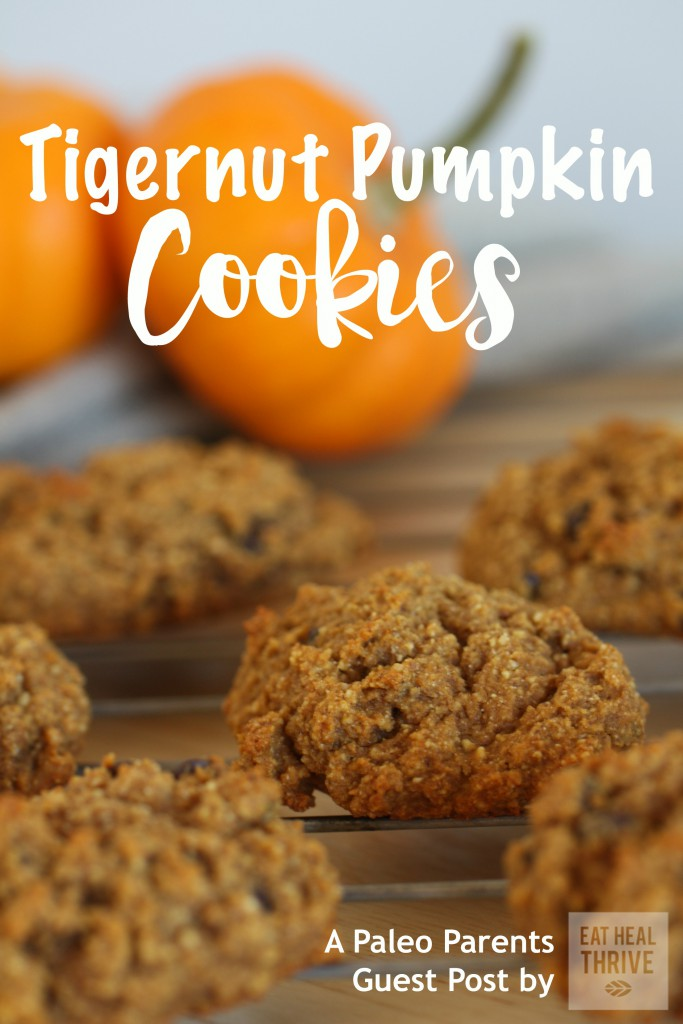 Paleo Parents Guest Post: Tigernut Pumpkin Cookies, Eat Heal Thrive | Nut-free, Paleo