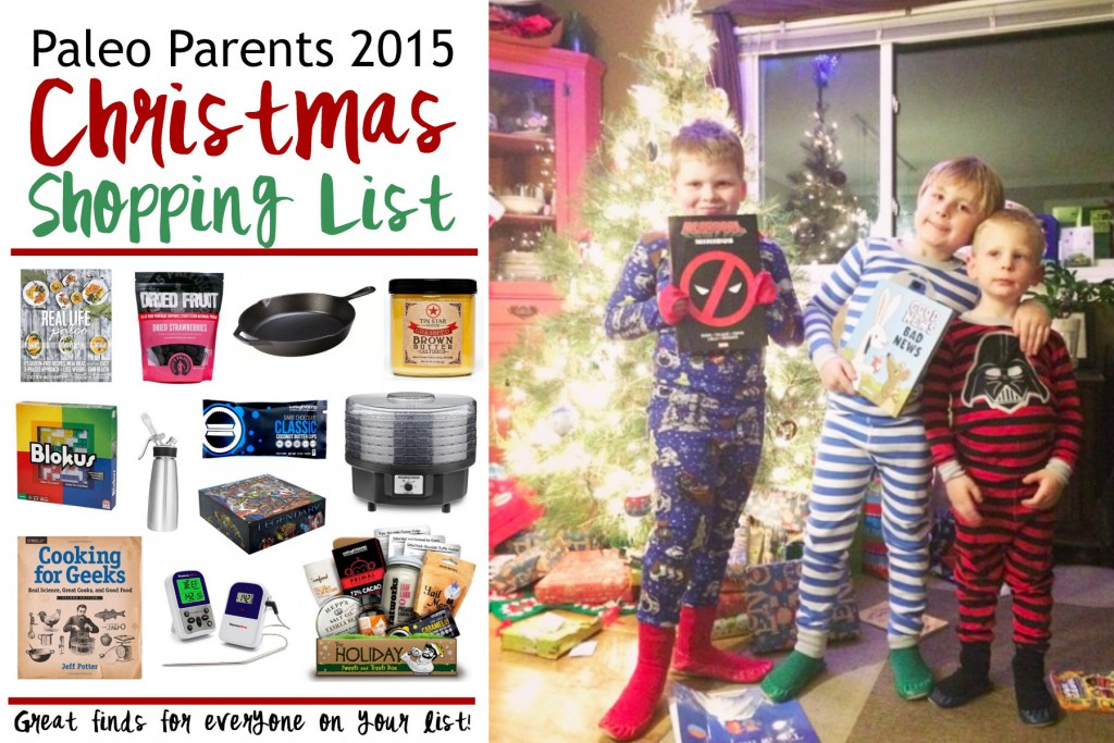 The 2015 Christmas Shopping List for Giving Gifts to Everyone on your List