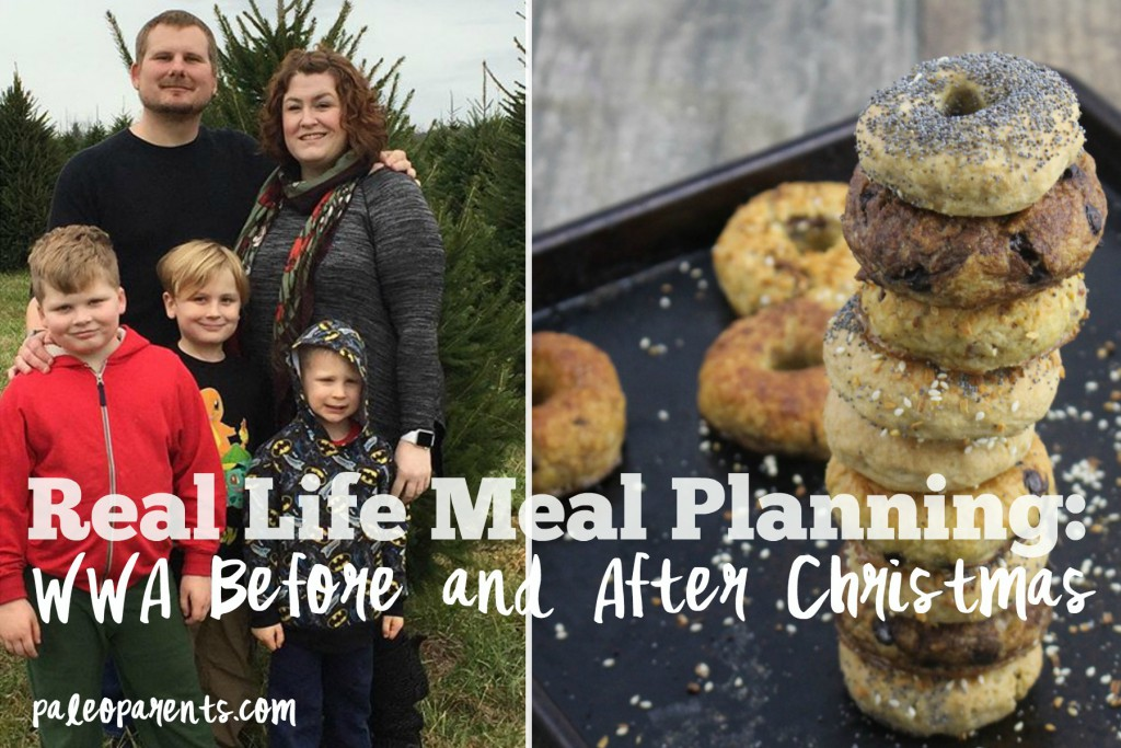Real Life Meal Planning: WWA Before & After Christmas