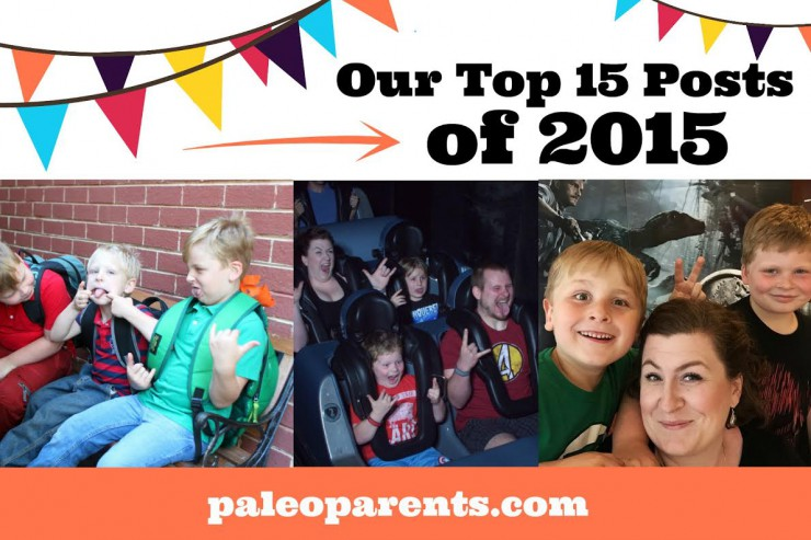 Top Posts of 2015 on PaleoParents