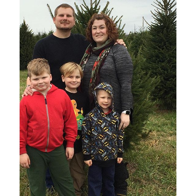 at tree farm, Paleo Parents Healthy Cold Weather Comfort Foods