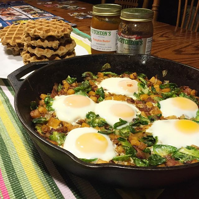squash and bruss hash, Paleo Parents Healthy Cold Weather Comfort Foods