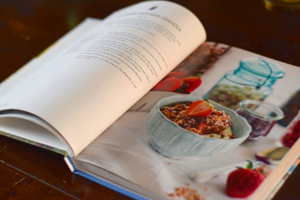 Choc strawberry granola, Paleo Parents Book Review: All American Paleo Table + Recipe for Morning Butter Biscuits and Blackberry Skillet Jam