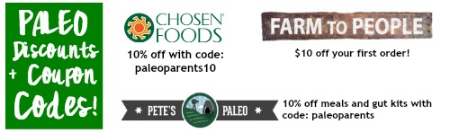 Discounts and coupons NL top, Paleo Parents Healing Foods After an Indulgent Holiday! Plus coupons and discount codes.
