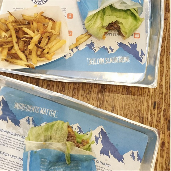 Dining Paleo in DC: Elevation Burger as seen on PaleoParents.com