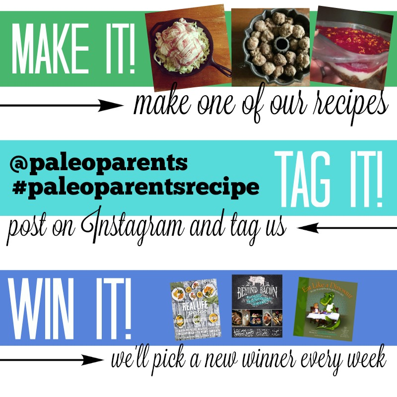 Instagram recipe graphic, You Eat What? Weird Paleo Ingredients Demystified - Paleo Parents