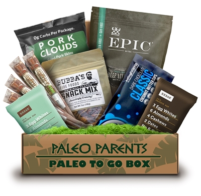 One Stop Paleo Shop Paleo Parents Paleo to Go Box