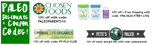 Paleo discounts coupon codes January 2015, You Eat What? Weird Paleo Ingredients Demystified - Paleo Parents