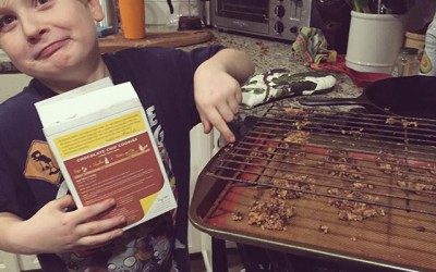 Finn's Kitchen Disaster + Healthy Choices to Fight Cold and Flu Season