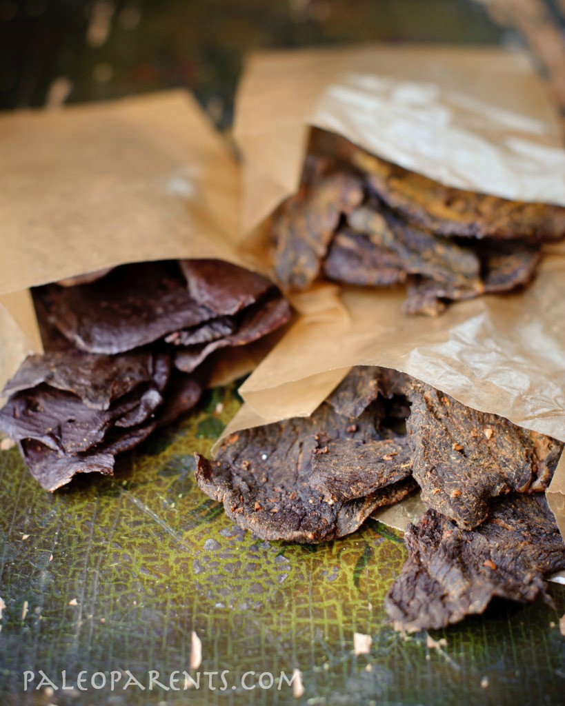 Ginger-Tamari-Beef-Jerky, The Secret to Great Paleo Asian Food: All About Coconut Aminos | Paleo Parents