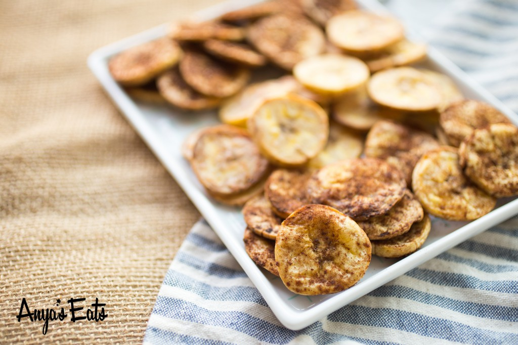 Paleo Parents Guest Post: Plantain Chips Three Ways, Anya Eats