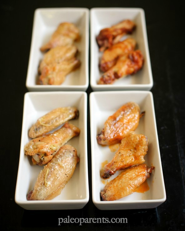Real Life Paleo Crispy Oven Baked Wings by Paleo Parents
