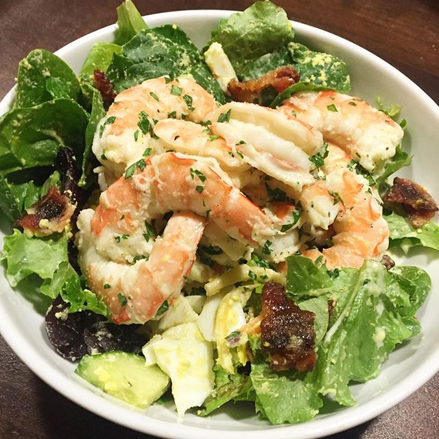 shrimp on salad, All About Ghee: Why We Love It & How We Use It! | Paleo Parents