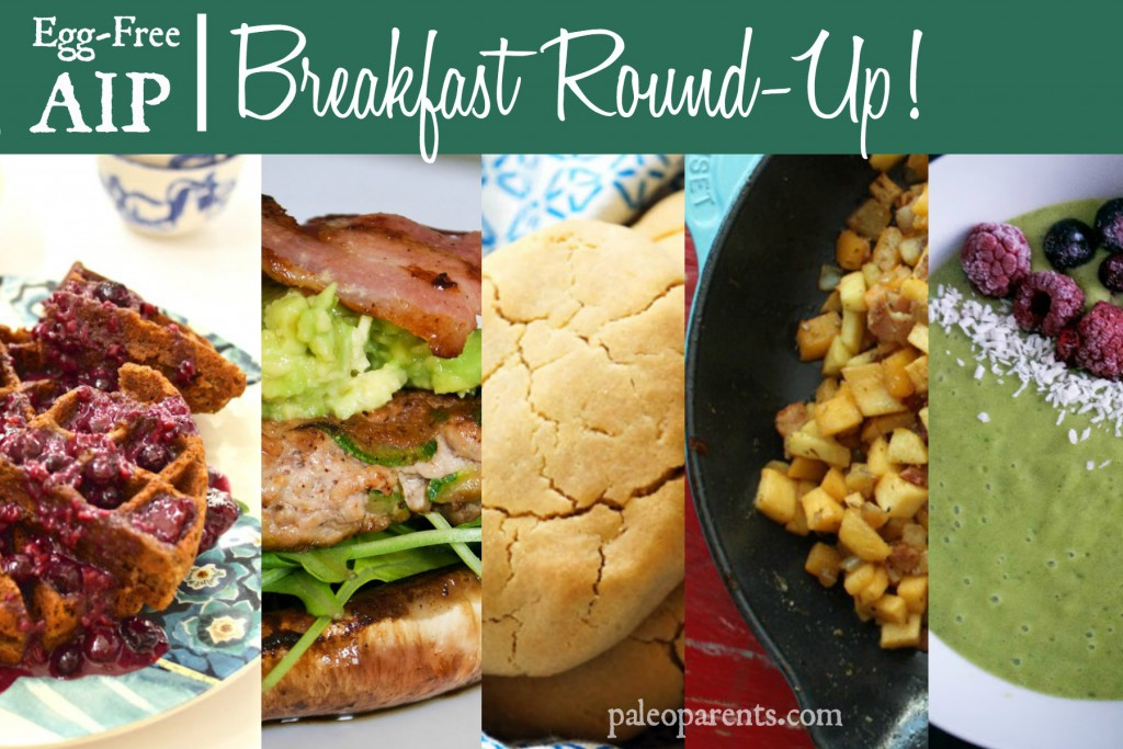Egg-Free AIP Breakfast Round-Up