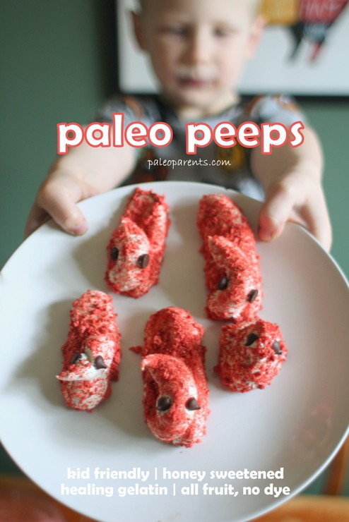 Make Your Own PALEO PEEPS