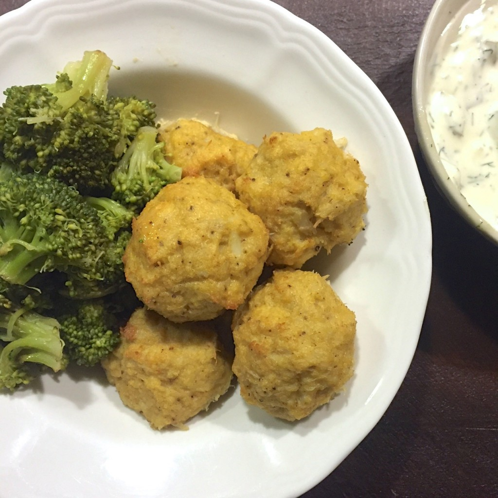 crab balls broccoli, Back to Basics: Our Weekly Meal Plan of Simple Dinners | Paleo Parents