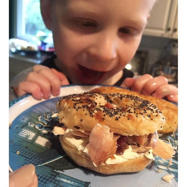 wes bagel love, All about Paleo Marshmallows + Our First Broken Bone   Paleo Parents