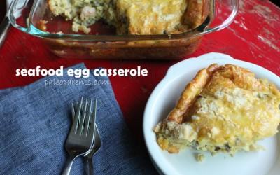 Seafood Egg Casserole