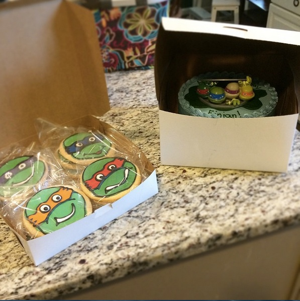 TMNT Happy Tart by Paleo Parents