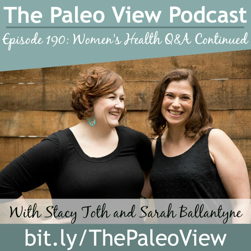The Paleo View TPV 190 Women's Health QA Continued