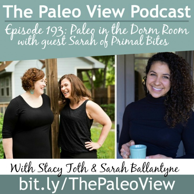 TPV Podcast, Episode 193, Paleo in the Dorm Room