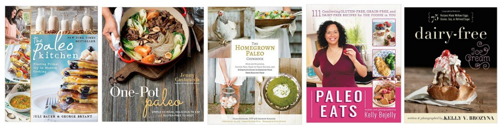 Paleo cookbooks May 4