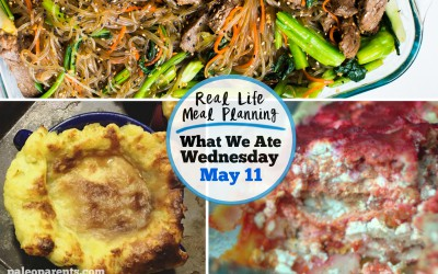 What We Ate: Our {Very Special} Weekly Meal Plan!