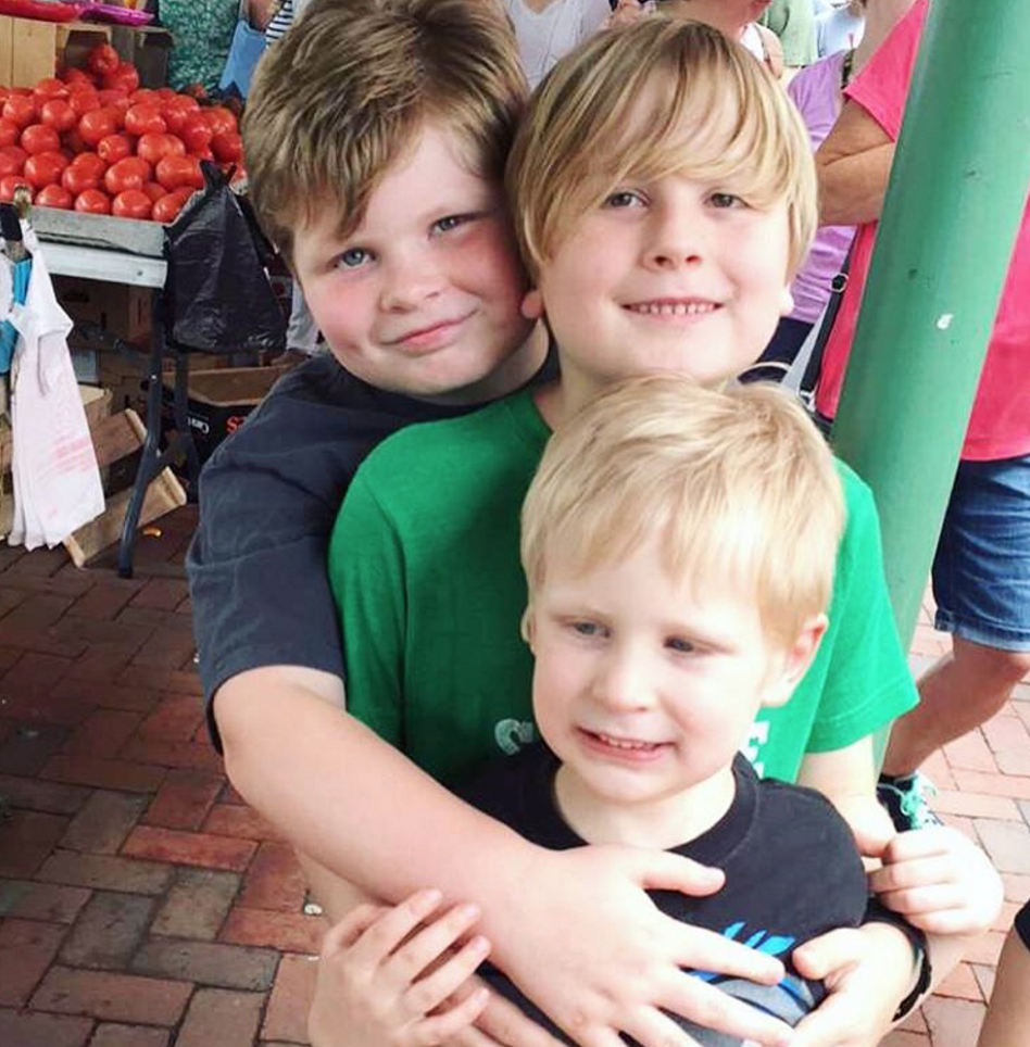Boys at the market |Paleo Parents