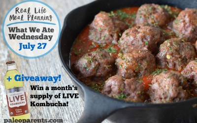 Eats from the Web: Our Weekly Family Meal Plan + LIVE Soda Kombucha Giveaway!
