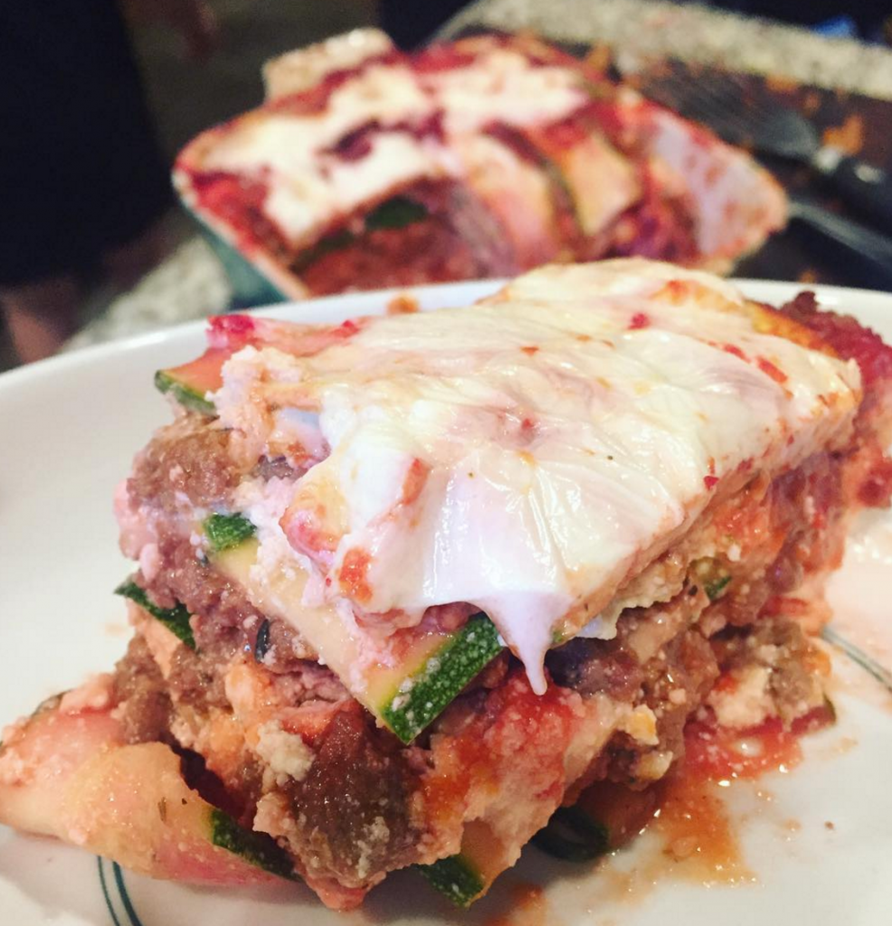 Less lasagna, Our Weekly Family Meal Plan: Fourth of July Weekend Eats! Paleo Parents
