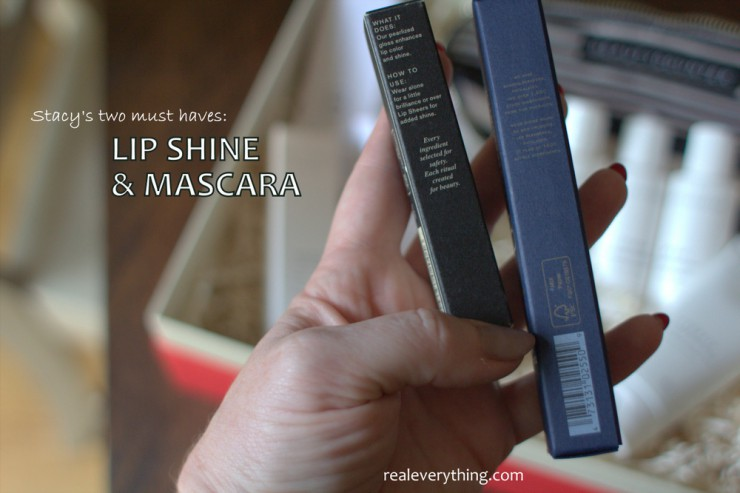 Gloss and Mascara Must Haves on RealEverything