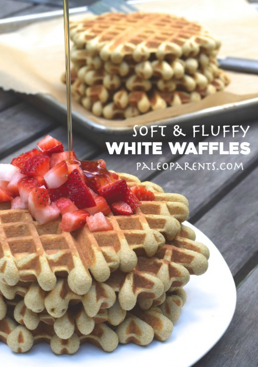 White Waffles Paleo Parents 2