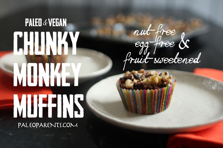 Chunky Monkey Muffins by PaleoParents