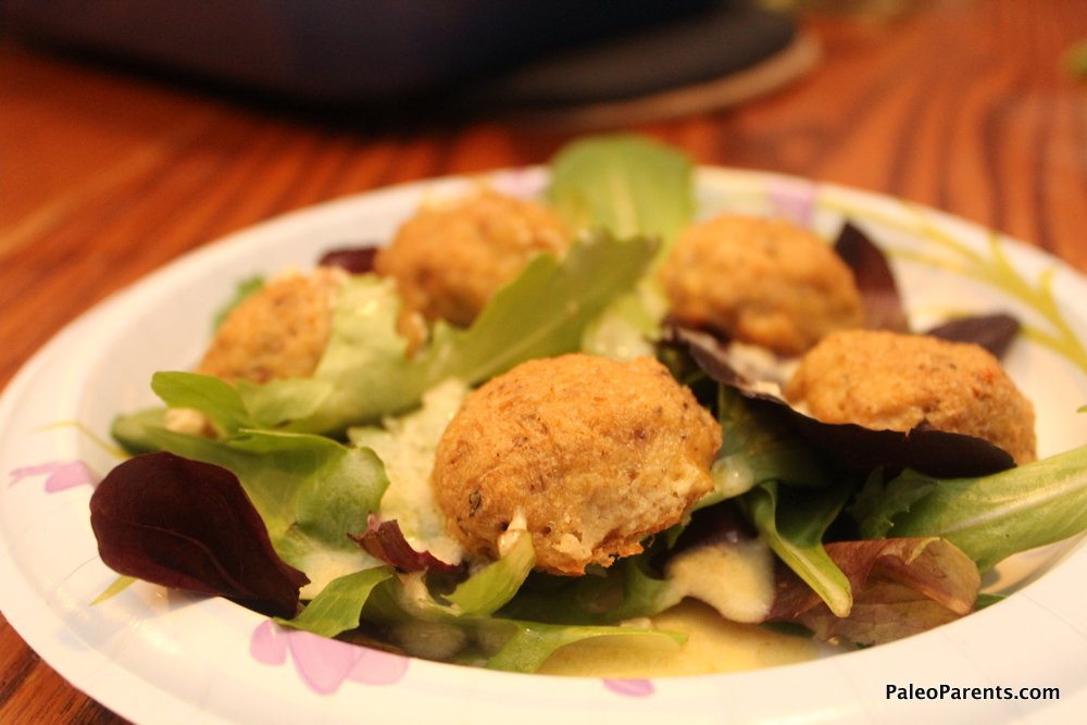 Crab Balls - Our Weekly Family Meal Plan: Fourth of July Weekend Eats! Paleo Parents