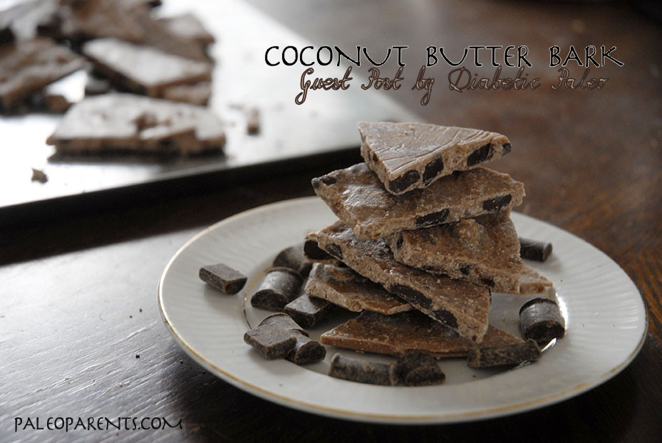 Coconut Bark from @PaleoDiabetic on @PaleoParents