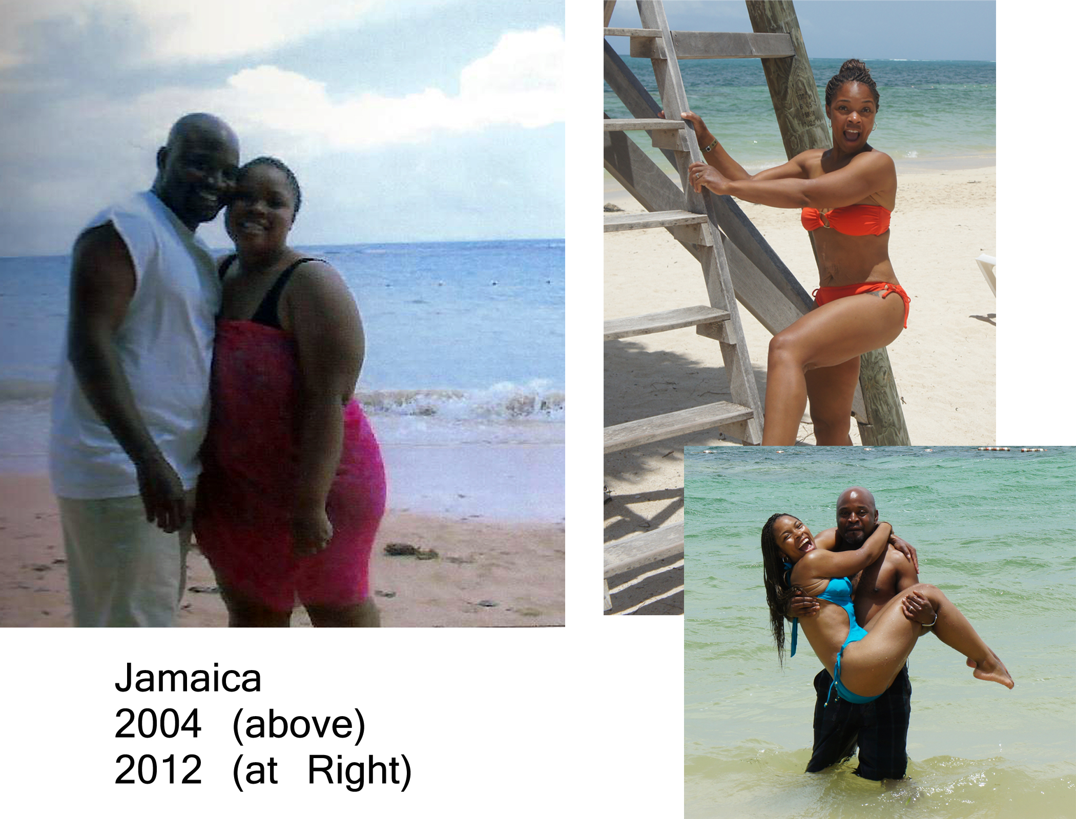 Jamaica before and after