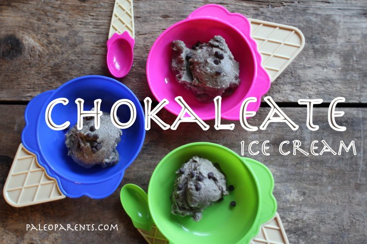 Chokaleate Ice Cream by PaleoParents, Paleo Parents Weekend Wrap Up, 3/15: GIVEAWAY, CRAZY COUPONS, An ANNOUNCEMENT And WHAT Cole Is Cooking!