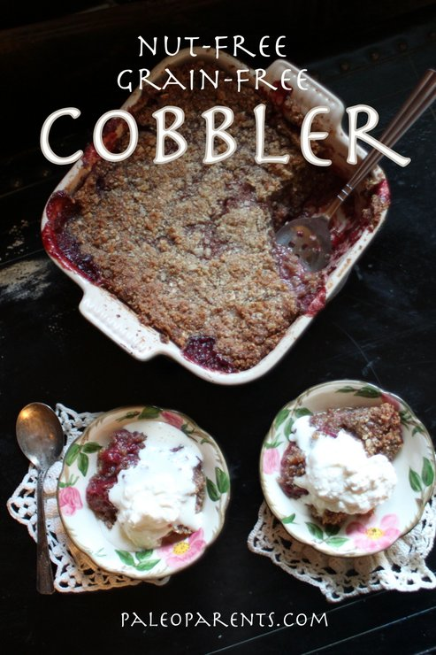 Nutfree Grainfree Cobbler at PaleoParents