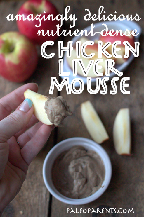 Chicken Liver Mousse by PaleoParents