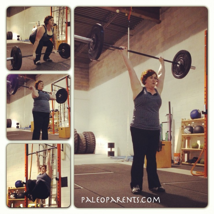 Stacy CrossFit at PaleoParents
