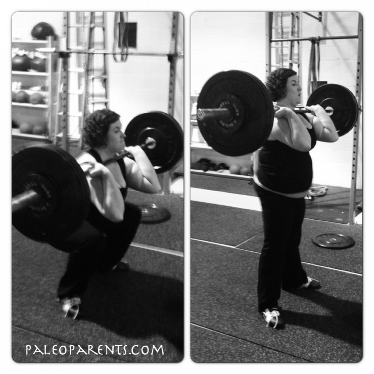 Stacy Lifts at PaleoParents