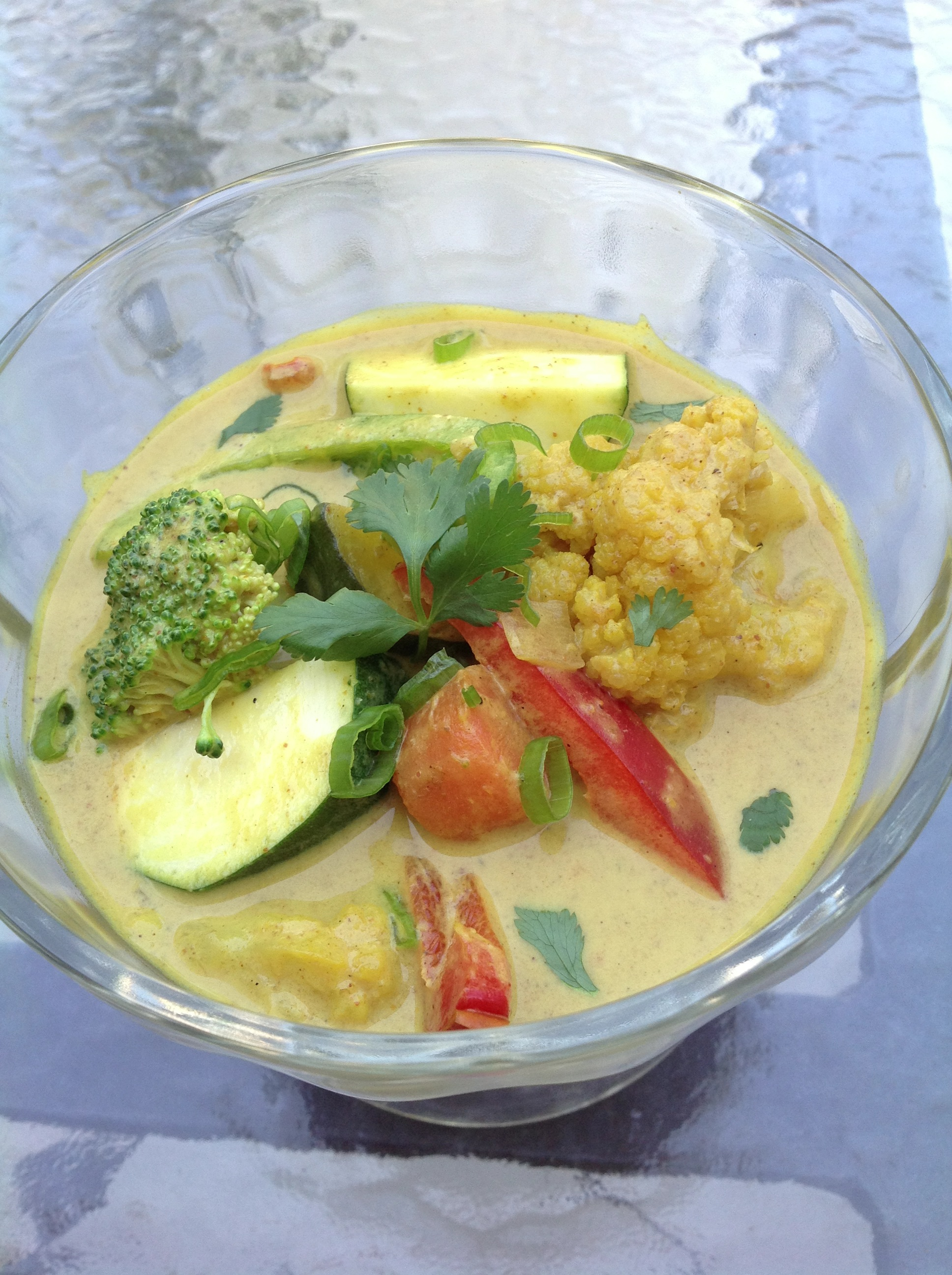 Thai Vegetable Curry by Arielle from Paleoteen