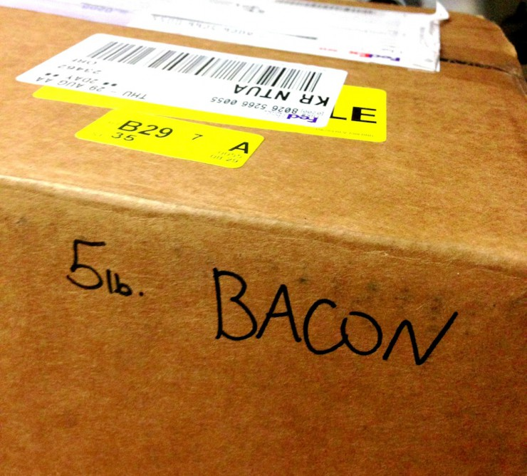 Five Pound Bacon Delivery