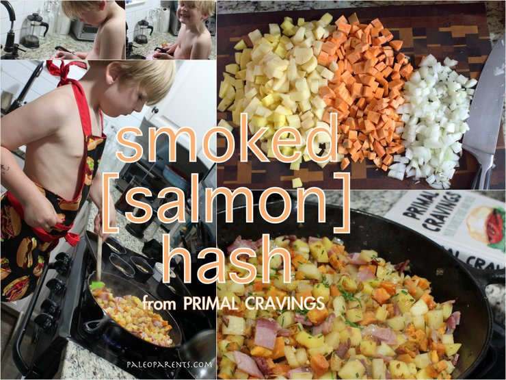 Smoked [salmon] Hash from Primal Cravings on PaleoParents