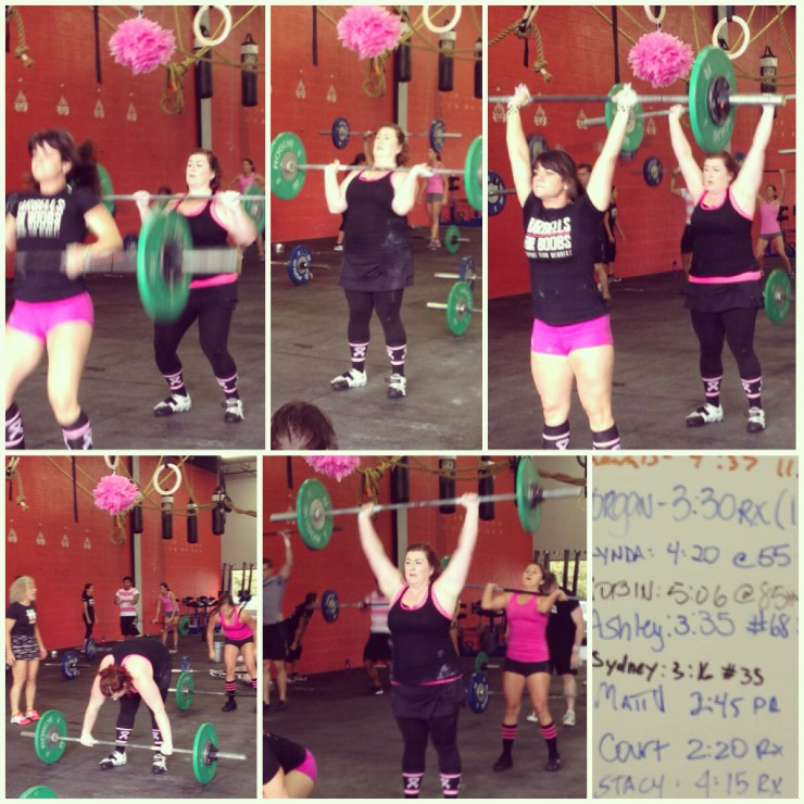 Stacy & Courtney Barbells for Boobs