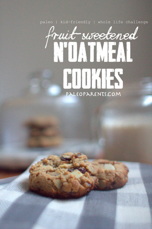N'Oatmeal Cookies by PaleoParents.com