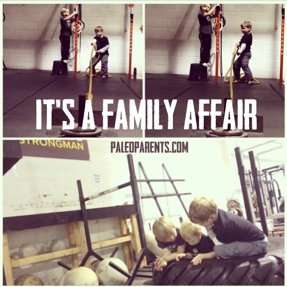 Strong is a Family Affair on PaleoParents