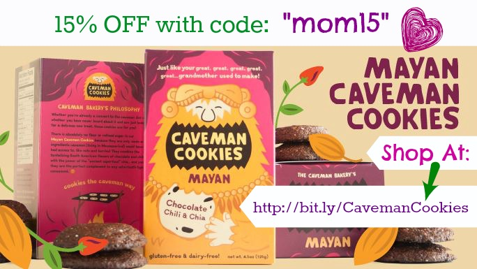 caveman cookies mom