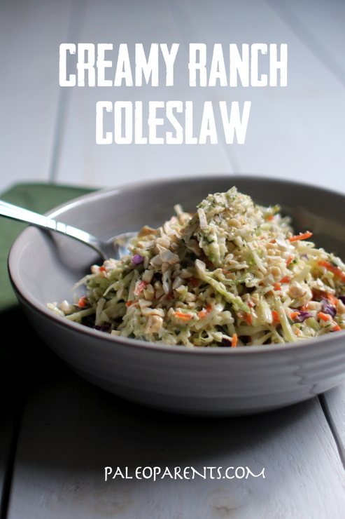Creamy Ranch Coleslaw by PaleoParents 3